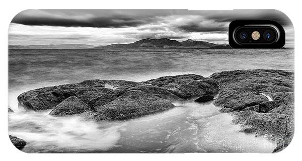 Beautiful Scotland iPhone Case - A Storm Brewing by John Farnan
