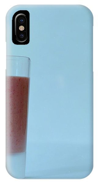 A Strawberry Flavored Drink IPhone Case