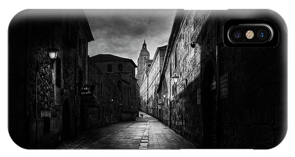Alley iPhone Case - A Street In Salamanca by Jose C. Lobato