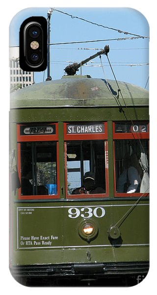Trolley Car iPhone Case - A Streetcar Named Something Else by Olivier Le Queinec