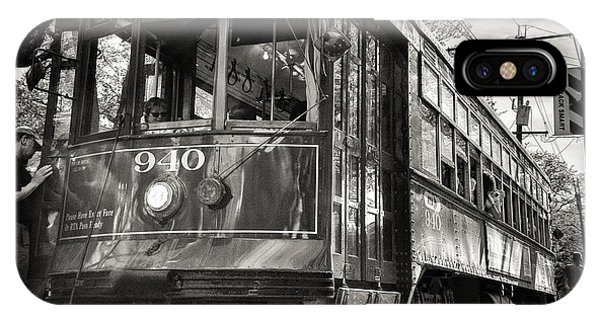 A Streetcar Named St Charles IPhone Case