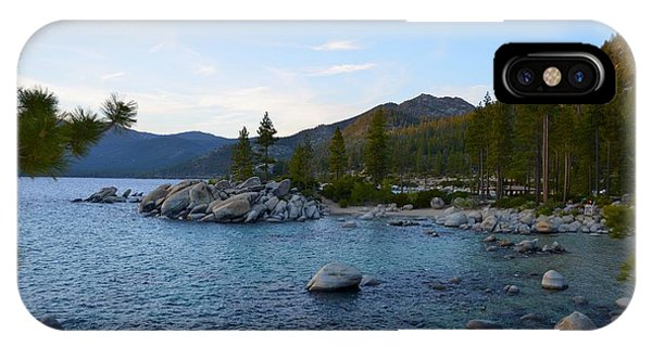 Just Before Sunset At Lake Tahoe IPhone Case