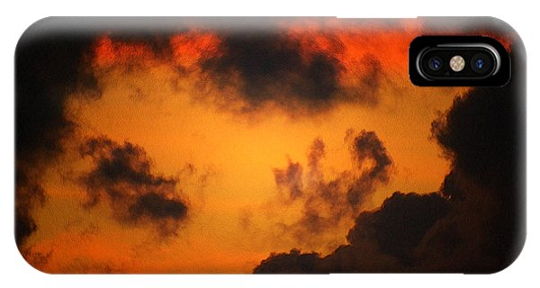 A Textured Morning IPhone Case