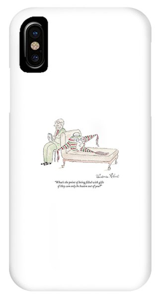 A Therapist Listens To A Pinata Patient IPhone Case