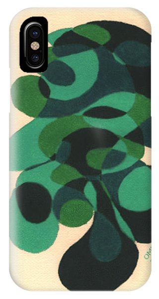 A Touch Of Green Phone Case by Olivia  M Dickerson