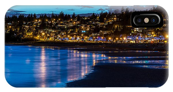 A Town Called White Rock - By Sabine Edrissi IPhone Case