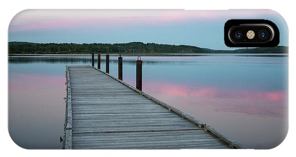 iPhone Case - A Tranquil Evening On The Dock by Robbie George