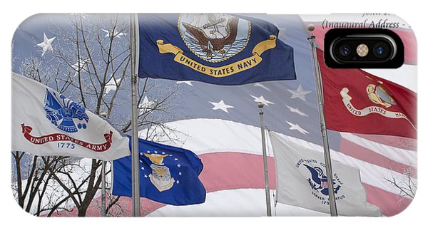 A Tribute To Our Freedom IPhone Case