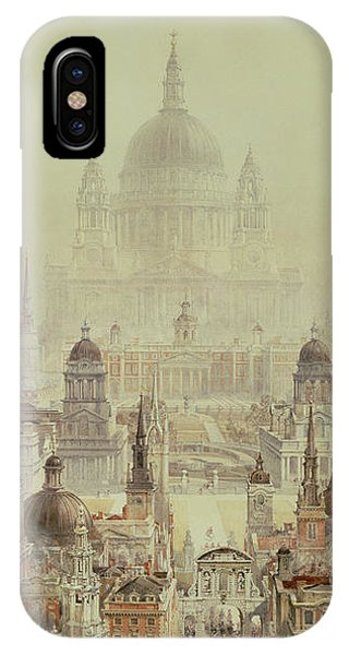 A Tribute To Sir Christopher Wren IPhone Case