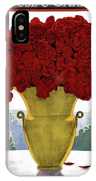 A Vase With Red Roses IPhone Case