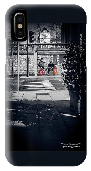 IPhone Case featuring the photograph A Very Long Waiting Day by Stwayne Keubrick