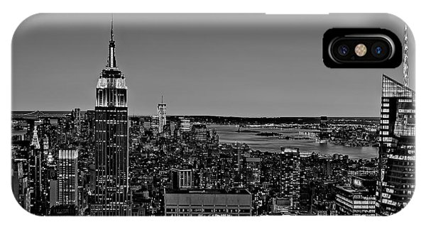 A View From The Top Bw IPhone Case