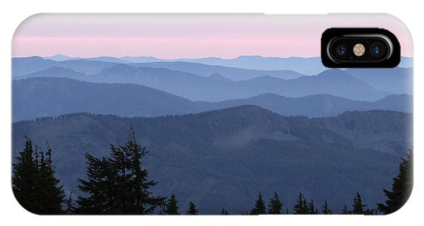 A View From Timberline IPhone Case