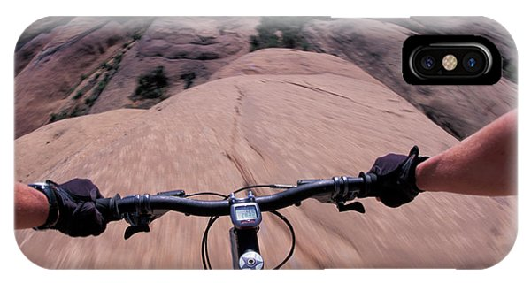 It Professional iPhone Case - A View Of A Female Mountain Bikers by Corey Rich