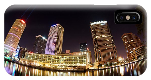 A View Of Tampa And The Hillsborough River IPhone Case