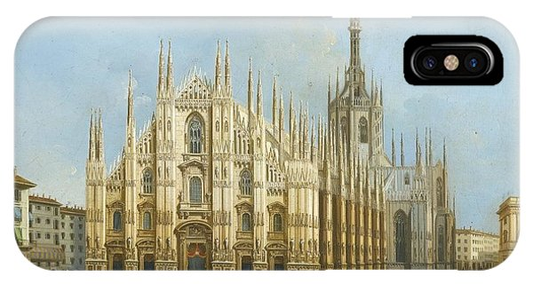 A View Of The Duomo IPhone Case