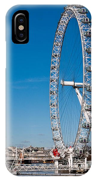 A View Of The London Eye IPhone Case