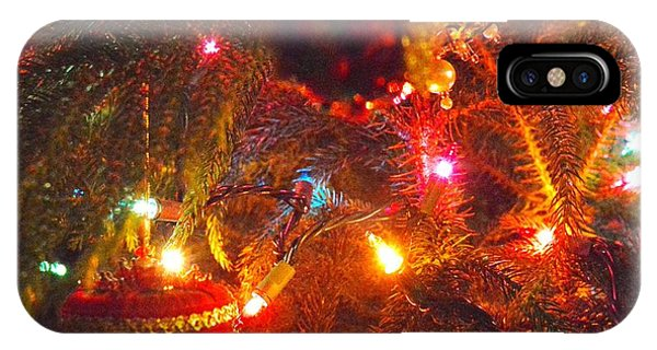 IPhone Case featuring the photograph A Vintage Christmas  by Laurie Lundquist