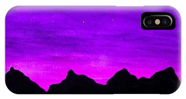 A Violet Dream IPhone Case