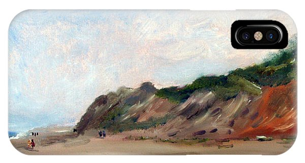 A Walk Down Cahoon Hollow Beach IPhone Case