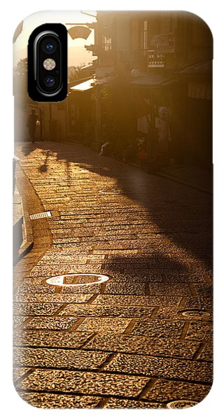 IPhone Case featuring the photograph A Walk In Kyoto by Brad Brizek