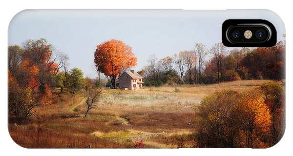 A Walk In The Meadow IPhone Case