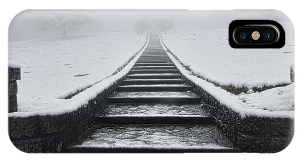 A Walk Into The Fog IPhone Case