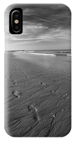 IPhone Case featuring the photograph A Walk On The Beach by Brad Brizek
