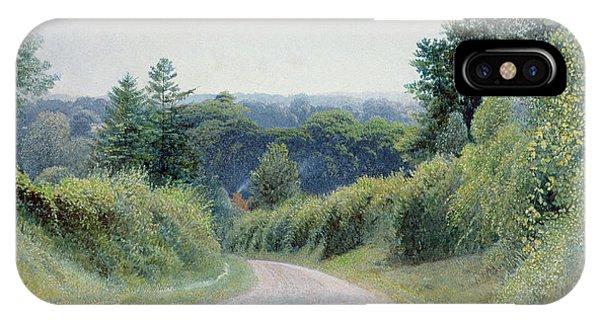A Warwickshire Lane IPhone Case
