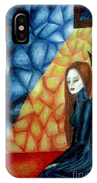 A Watcher's Tears Phone Case by Coriander  Shea