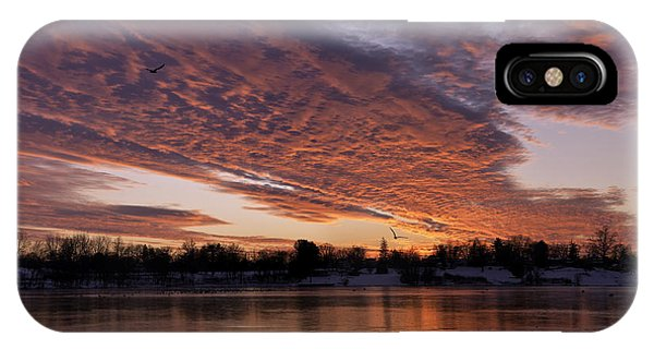 A Westward Pull IPhone Case