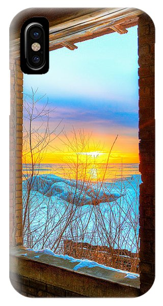 A Window To Lake Michigan  Phone Case by Michael  Bennett
