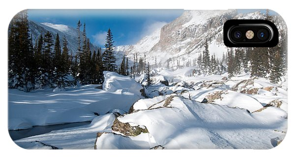 A Winter Morning In The Mountains IPhone Case