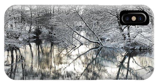 A Winter Scene IPhone Case