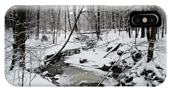 A Winter Stream IPhone Case