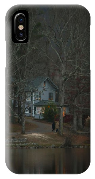 A Winter Walk IPhone Case