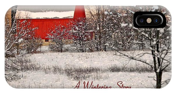A Wintering Story IPhone Case