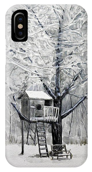A Winter's Morn IPhone Case