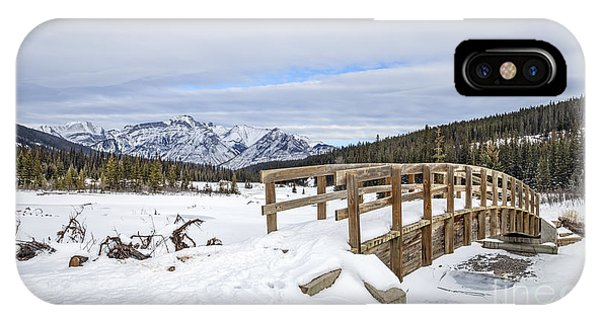 Banff iPhone Case - A Winter's Tale by Evelina Kremsdorf