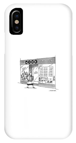 The Wine Station IPhone Case