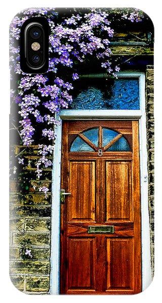 A Yorkshire Door IPhone Case