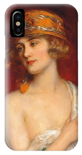 Youthful iPhone Case - A Young Beauty by Albert Lynch