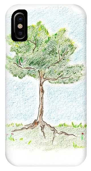 A Young Tree IPhone Case