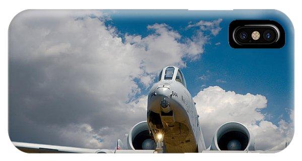 A10 Warthog Approach Landing IPhone Case