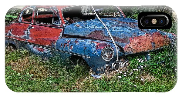 Abandoned 1950 Mercury Monteray Buick IPhone Case