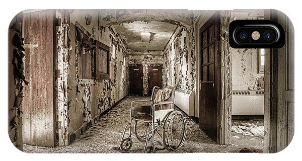 Abandoned Asylums - What Has Become IPhone Case