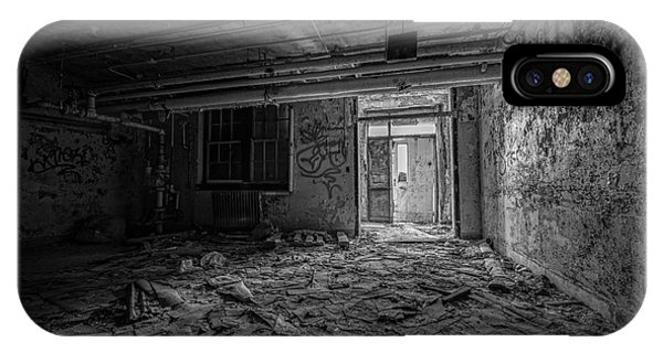 Urban Decay iPhone Case - Abandoned Bw by Michael Ver Sprill