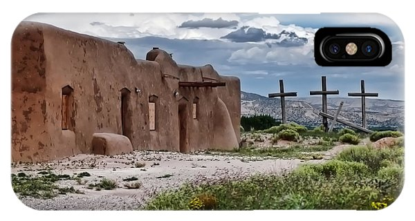 Abandoned Church In Abiquiu New Mexico IPhone Case