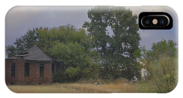 Abandoned Country House In Rural Northwest Iowa IPhone Case