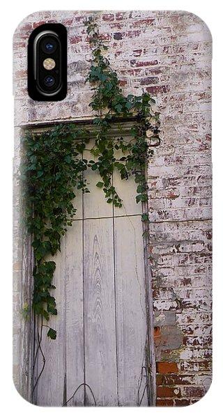 Abandoned Door Phone Case by Warren Thompson